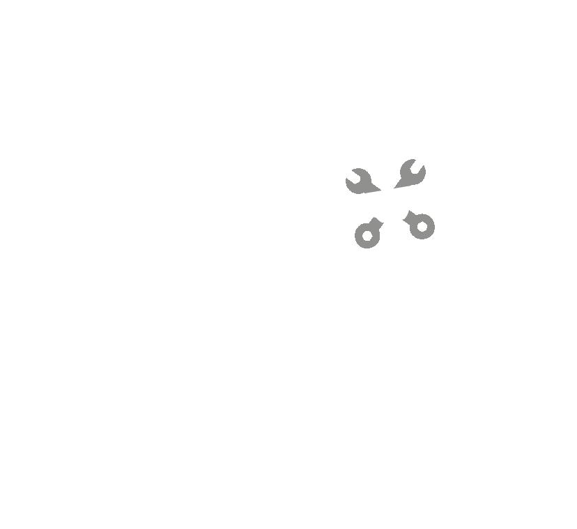 PedalPour-Emblem Logo-white
